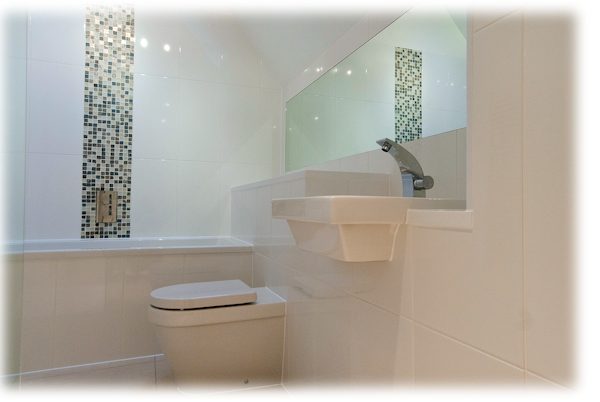 Pipes Ltd of Hertford. Plumbers and Central Heating and Boiler engineers. Photo of Bathroom